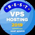 Auhind firmadele, mis on 10 parima vps-i hostingu kategoorias.