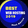 Auhind firmadele, mis on 10 parima veebihostingu kategoorias.