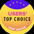 Auhinnatud 10 parima veebihostingufirma hulka, millel on kõrgeim kasutajate hinnang